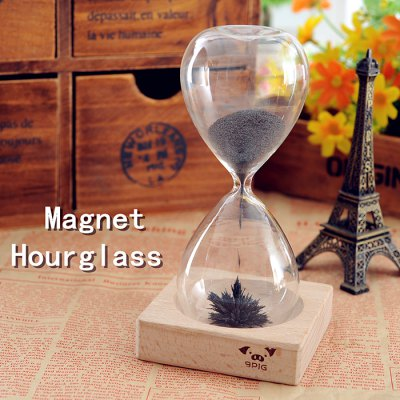 Magnet Hourglass with Base