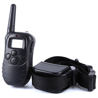 Rechargeable Dog Training Collar Remote Electric No Shock Pet Necklace