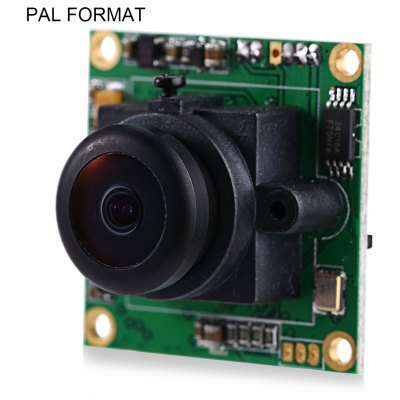 RunCam PZ0420M 600TVL 2.4mm Lens PAL Format Camera for Multicopter FPV Project