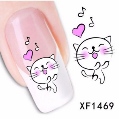 Colorful Stylish Art Sticker Tips Decoration Manicure Nail Paste