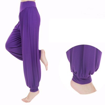 Female Exercising Yoga Bloomers