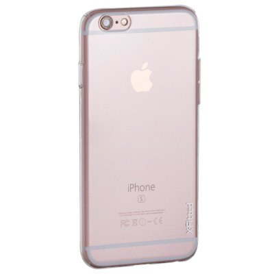 ФОТО X-Fitted Protective Back Case for iPhone 6 / 6S TPU Material Transparent