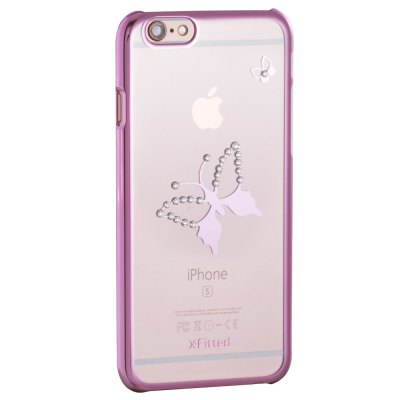 X-Fitted Butterfly Protective Case for iPhone 6 / 6S with Swarovski DiamondiPhone Cases/Covers<br>X-Fitted Butterfly Protective Case for iPhone 6 / 6S with Swarovski Diamond<br><br>Compatible for Apple: iPhone 6,iPhone 6S<br>Features: Back Cover<br>Material: TPU<br>Style: Diamond/Rhinestone Decorated Case,Transparent<br>Color: Gold,Silver,Pink<br>Product weight: 0.035 kg<br>Package weight: 0.100 kg<br>Product size (L x W x H): 13.500 x 6.900 x 0.900 cm / 5.315 x 2.717 x 0.354 inches<br>Package size (L x W x H): 18.000 x 10.000 x 2.500 cm / 7.087 x 3.937 x 0.984 inches<br>Package Contents: 1 x Protective Case for iPhone 6 / 6S