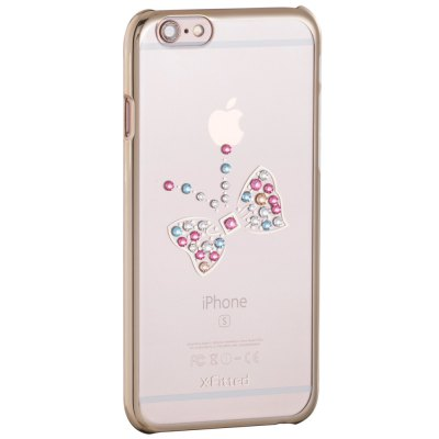 X-Fitted Aulic Butterfly Protective Case for iPhone 6 / 6S with Swarovski DiamondiPhone Cases/Covers<br>X-Fitted Aulic Butterfly Protective Case for iPhone 6 / 6S with Swarovski Diamond<br><br>Compatible for Apple: iPhone 6,iPhone 6S<br>Features: Back Cover<br>Material: TPU<br>Style: Diamond/Rhinestone Decorated Case,Transparent<br>Color: Gold,Silver,Pink<br>Product weight: 0.035 kg<br>Package weight: 0.100 kg<br>Product size (L x W x H): 13.500 x 6.900 x 0.900 cm / 5.315 x 2.717 x 0.354 inches<br>Package size (L x W x H): 18.000 x 10.000 x 2.500 cm / 7.087 x 3.937 x 0.984 inches<br>Package Contents: 1 x Protective Case for iPhone 6 / 6S