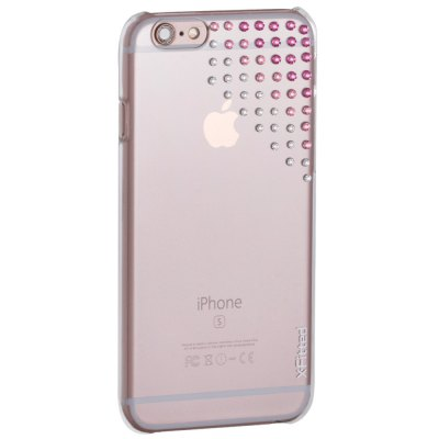X-Fitted Luxury Protective Case for iPhone 6 / 6S with 55 Swarovski DiamondsiPhone Cases/Covers<br>X-Fitted Luxury Protective Case for iPhone 6 / 6S with 55 Swarovski Diamonds<br><br>Compatible for Apple: iPhone 6,iPhone 6S<br>Features: Back Cover<br>Material: TPU<br>Style: Diamond/Rhinestone Decorated Case,Transparent<br>Color: Pink<br>Product weight: 0.035 kg<br>Package weight: 0.100 kg<br>Product size (L x W x H): 13.500 x 6.900 x 0.900 cm / 5.315 x 2.717 x 0.354 inches<br>Package size (L x W x H): 18.000 x 10.000 x 2.500 cm / 7.087 x 3.937 x 0.984 inches<br>Package Contents: 1 x Protective Case for iPhone 6 / 6S