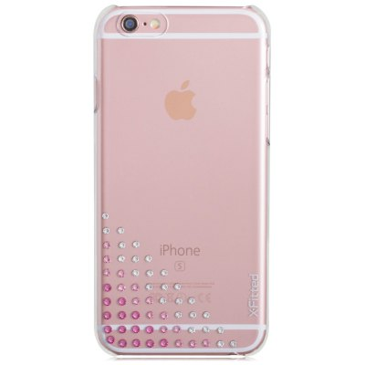 X-Fitted 55 Diamond Transparent Protecive Back Case for iPhone 6 / 6S