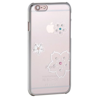 X-Fitted Blossom Flower Protective Case for iPhone 6 Plus / 6S Plus Swarovski DiamondiPhone Cases/Covers<br>X-Fitted Blossom Flower Protective Case for iPhone 6 Plus / 6S Plus Swarovski Diamond<br><br>Compatible for Apple: iPhone 6S Plus,iPhone 6 Plus<br>Features: Back Cover<br>Material: TPU<br>Style: Diamond/Rhinestone Decorated Case,Pattern,Transparent<br>Color: Gold,Silver,Pink<br>Product weight: 0.035 kg<br>Package weight: 0.100 kg<br>Product size (L x W x H): 16.500 x 7.500 x 0.900 cm / 6.496 x 2.953 x 0.354 inches<br>Package size (L x W x H): 18.000 x 10.000 x 2.500 cm / 7.087 x 3.937 x 0.984 inches<br>Package Contents: 1 x Protective Case for iPhone 6 Plus / 6S Plus