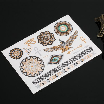 Fashion Western Tribal Elements Temporary Tattoos Stickers