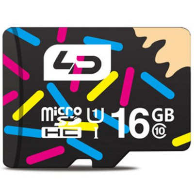 LD 16GB Micro SD Memory Card