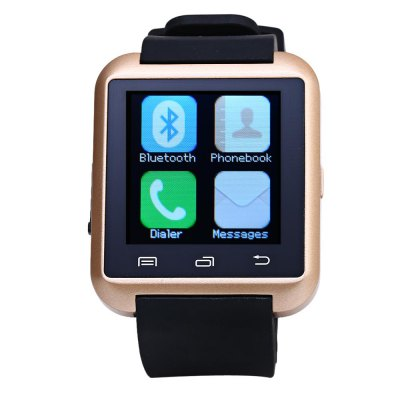 U8S Smart Bluetooth 3.0 Watch Outdoor Sports SmartwatchSmart Watches<br>U8S Smart Bluetooth 3.0 Watch Outdoor Sports Smartwatch<br><br>Anti-lost: Yes<br>Band material: Rubber<br>Bluetooth calling: Call log sync,Dialing,Phone call reminder,Phonebook<br>Bluetooth Version: Bluetooth 3.0<br>Case material: Plastic<br>Compatability: Android 3.0 and above system<br>Compatible OS: Android<br>Groups of alarm: 1 group<br>Health tracker: Pedometer,Sleep monitor<br>Language: Dutch,English,French,German,Italian,Portuguese,Spanish<br>Locking screen : 3 kinds<br>Messaging: Message checking,Message reminder,Message sending<br>Notification: Yes<br>Other Functions: Stopwatch, Calender, Alarm, Calculator<br>Package Contents: 1 x U8S Watch, 1 x Charging Cable, 1 x English Manual<br>Package size (L x W x H): 11.00 x 8.00 x 5.00 cm / 4.33 x 3.15 x 1.97 inches<br>Package weight: 0.169 kg<br>People: Unisex watch<br>Product size (L x W x H): 25.40 x 4.00 x 1.20 cm / 10 x 1.57 x 0.47 inches<br>Product weight: 0.043 kg<br>Remote Control: Camera remote,Music remote<br>Screen: LED<br>Shape of the dial: Rectangle