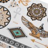 best Fashion Western Tribal Elements Temporary Tattoos Stickers