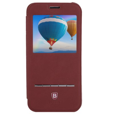 ФОТО Baseus Smart Window Full Cover Stand Case for Samsung Galaxy S6