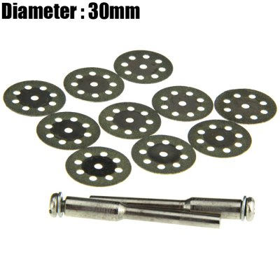 12PCS 30mm 8-hole Diamond Saw Blade
