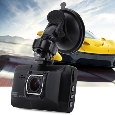 1080P Full HD 12MP 170 Degree Wide Angle Car DVR Recorder CameraCar DVR<br>1080P Full HD 12MP 170 Degree Wide Angle Car DVR Recorder Camera<br><br>Type: Full HD Dashcam<br>Chipset Name: Novatek<br>Chipset: Novatek 96223<br>Max External Card Supported: TF 32G (not included)<br>Class Rating Requirements: Class 10 or Above<br>Screen size: 3.0inch<br>Screen type: LTPS<br>Battery Type: Built-in<br>Charge way: Car charger<br>Wide Angle: 170 degree wide angle<br>Camera Lens : Glass<br>Camera Pixel : 12MP<br>Decode Format: H.264<br>Video format: AVI<br>Video Resolution: 1080P (1920 x 1080),1440 x 1080,320 x 240,720P (1280 x 720),848 x 480,VGA (640 x 480)<br>Video Frame Rate: 30fps<br>Image Format : JPEG<br>Image resolution: 1.3M (1280 x 960),10M (3648 x 2736),12M (4032 x 3024),3M (2048 x 1536),5M (2592 x 1944),8M (3264 x 2448)<br>Audio System: Built-in microphone/speacker (AAC)<br>Exposure Compensation: +1,+1/3,+2,+4/3,+5/3,-1,-1/3,-2,-2/3,-4/3,-5/3,0,2/3<br>Loop-cycle Recording : Yes<br>Loop-cycle Recording Time: 1min,3min,5min,OFF<br>Motion Detection: Yes<br>Night vision : Yes<br>GPS: No<br>G-sensor: Yes<br>WDR: Yes<br>USB Function: PC-Camera,USB-Disk<br>Auto-Power On : Yes<br>Delay Shutdown : Yes<br>Time Stamp: Yes<br>Interface Type: Mini USB,TF Card Slot<br>Language: English,French,German,Italian,Japanese,Russian,Simplified Chinese,Spanish,Traditional Chinese<br>Frequency: 50Hz,60Hz<br>Product weight: 0.1260 kg<br>Package weight: 0.4020 kg<br>Product size (L x W x H): 8.60 x 5.30 x 3.50 cm / 3.39 x 2.09 x 1.38 inches<br>Package size (L x W x H): 17.30 x 13.00 x 9.20 cm / 6.81 x 5.12 x 3.62 inches<br>Package Contents: 1 x Car DVR, 1 x Car Charger, 1 x USB Cable, 1 x Suction Cup Bracket, 1 x English / Chinese Instruction