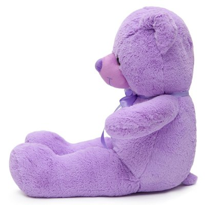 Rongzhimei 16 inch Purple Lavender Bear Pleasant Scent Plush Toy Animal Home Decoration Girl Sweet Dream