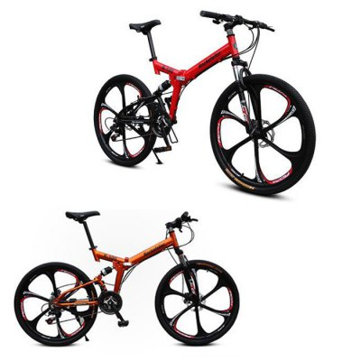 Rockefeller 26 inches Integral Wheel Folding MTB Bicycle от GearBest.com INT