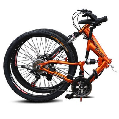 Rockefeller 26 inches 21 Speed Folding Mountain Bike от GearBest.com INT