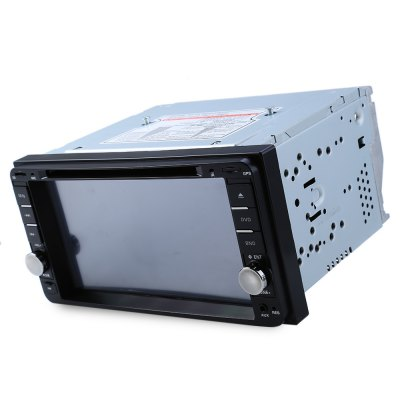 Car DVD Stereo Video Player for ToyotaCar DVD Player<br>Car DVD Stereo Video Player for Toyota<br><br>Type: 2-DIN<br>Material: Electronic Components,Metal,Plastic<br>Installation Site: In-Dash<br>Screen type: Digital touch screen<br>Screen size: 7inch<br>Screen resolution: 1024 x 600<br>AM/FM Radio: FM store 18stations<br>DVD Audio Format: MP3,OGG,WMA<br>Picture format: JPEG,JPG<br>Media Format: DVD-R/RW,DVD-RAM,JPEG,MP3,MP4,RM,WMA<br>OSD Language: Chinese,English,French,German,Italian,Japanse,Portuguese,Russian,Slovak,Spanish,Swedish,Turkish<br>Power Supply: 4 x 45W<br>Product weight: 1.593 kg<br>Package weight: 2.160 kg<br>Product size (L x W x H): 17.80 x 16.00 x 10.00 cm / 7.01 x 6.3 x 3.94 inches<br>Package size (L x W x H): 24.00 x 23.00 x 17.00 cm / 9.45 x 9.06 x 6.69 inches<br>Package Contents: 1 x Car DVD Stereo Video Player, 1 x Power Cable, 1 x Remote Control, 1 x English User Manual