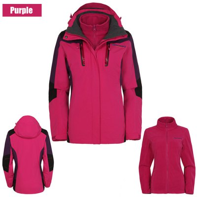 Discovery Expedition DAWD92151 Women Interchange JacketOutdoor Jackets<br>Discovery Expedition DAWD92151 Women Interchange Jacket<br><br>Brand: Discover Expedition<br>Model Number: DAWD92151<br>Gender: Women<br>Activity: Snowboarding,Camping and Hiking,Outdoor Lifestyle,Climbing,Fishing,Cycling<br>Season: Autumn,Spring,Winter<br>Size: S,M,L,XL,XXL<br>Material: Nylon,Fleece<br>Color: Green,Purple,White<br>Features: Wear Resistant,Windproof,Keep Warm,Breathable,Waterproof<br>Product weight: 1.300 kg<br>Package weight: 1.550 kg<br>Package size: 35.000 x 14.000 x 23.000 cm / 13.780 x 5.512 x 9.055 inches<br>Package Content: 1 x Discovery Expedition DAWD92151 Women Interchange Jacket, 1 x Liner Coat