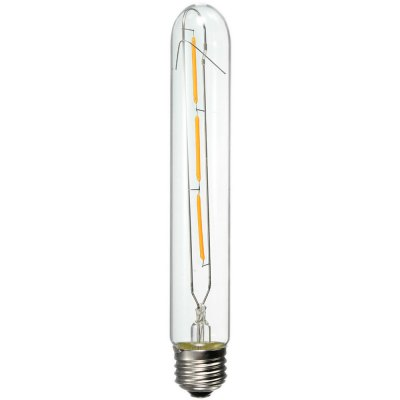 10pcs Huibona E27 3W COB 300LM LED Edison BulbLED Light Bulbs<br>10pcs Huibona E27 3W COB 300LM LED Edison Bulb<br><br>Brand: Huibona<br>Holder: E27<br>Type: Filament Bulb<br>Output Power: 3W<br>Emitter Types: COB<br>Total Emitters: 3<br>Luminous Flux: 300LM<br>Voltage (V): AC 110-240<br>Features: Energy Saving,Long Life Expectancy,Retro Edison Style<br>Function: Home Lighting,Commercial Lighting,Studio and Exhibition Lighting<br>Available Light Color: Warm White<br>Sheathing Material: Glass<br>Product weight: 0.040 kg<br>Package weight: 0.065 kg<br>Product size (L x W x H): 18.500 x 3.000 x 3.000 cm / 7.283 x 1.181 x 1.181 inches<br>Package size (L x W x H): 19.500 x 4.000 x 4.000 cm / 7.677 x 1.575 x 1.575 inches<br>Package Contents: 1 x E27 Edison Bulb