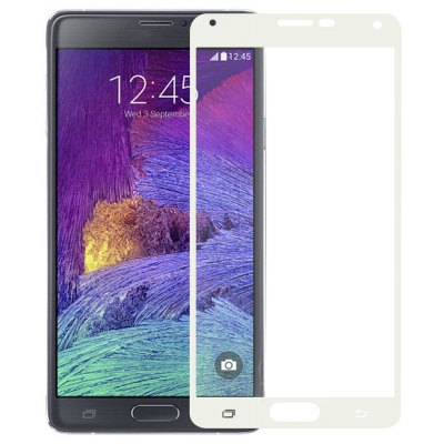 Angibabe 0.3mm Tempered Glass Screen Film for Samsung Note4 Screen Print