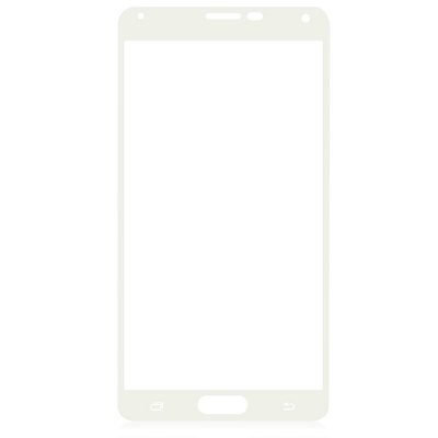 Angibabe 0.3mm Tempered Glass Screen Protector for Samsung Note4 Screen Printing