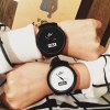 Clot Big Dial Quartz Watch with Leather Band for Men photo