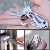 EDCGEAR Multi-function Tool Carabiner Key Holder 2pcs