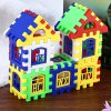 House DIY Building Blocks Intelligent Toy for Kids photo