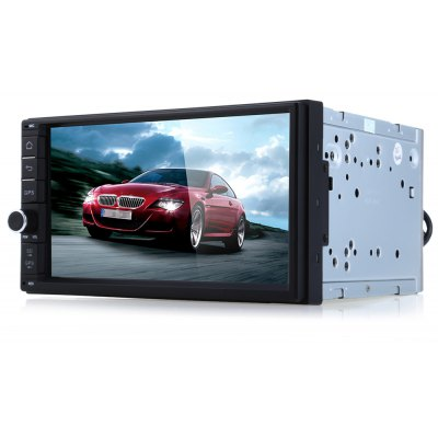 J - 2818W Android 4.4.4 Car Stereo Video Player GPS Navigation