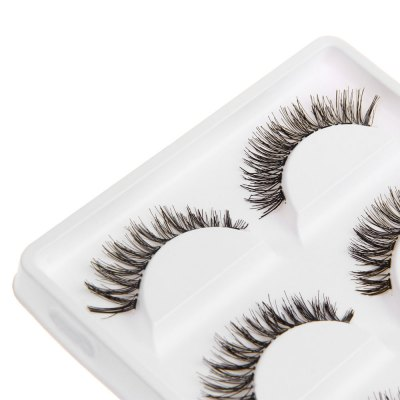 Exaggerated Eye Tail Lengthening Thick Reusable False Eyelashes