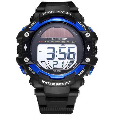Skmei 3751 Solar Power LED Watch