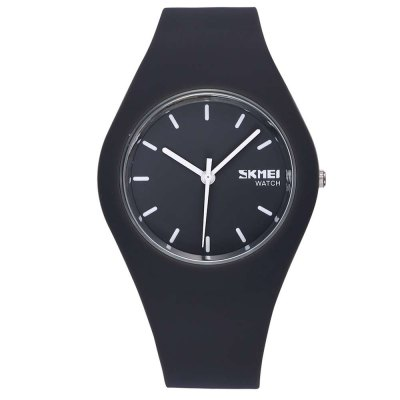 Skmei 3695 Candy Colors Kid Japan Quartz Watch Silicone BandKids Watches<br>Skmei 3695 Candy Colors Kid Japan Quartz Watch Silicone Band<br><br>Brand: Skmei<br>Watches categories: Unisex table<br>Watch style: Casual<br>Movement type: Quartz watch<br>Shape of the dial: Round<br>Display type: Analog<br>Case material: Stainless Steel<br>Band material: Silica Gel<br>Clasp type: Pin buckle<br>Water resistance : 30 meters<br>The dial thickness: 0.9 cm / 0.35 inches<br>The dial diameter: 4.0 cm / 1.58 inches<br>The band width: 1.7 cm / 0.67 inches<br>Product weight: 0.044 kg<br>Package weight: 0.074 kg<br>Product size (L x W x H): 24.500 x 4.000 x 0.900 cm / 9.646 x 1.575 x 0.354 inches<br>Package size (L x W x H): 25.500 x 5.000 x 1.900 cm / 10.039 x 1.969 x 0.748 inches<br>Package Contents: 1 x Skmei 3695 Watch