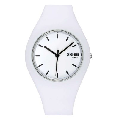 Skmei 3695 Candy Colors Kid Japan Quartz Watch Silicone Band