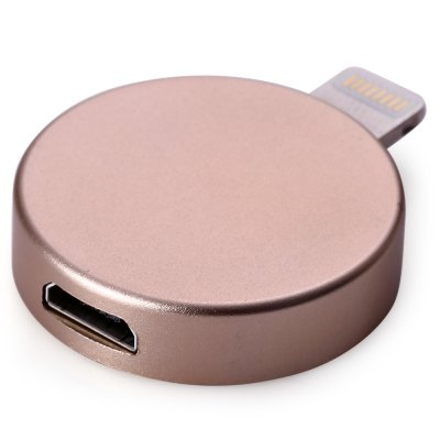P6 Round Shape 8GB Micro USB Lightning OTG Flash DriveUSB Flash Drives<br>P6 Round Shape 8GB Micro USB Lightning OTG Flash Drive<br><br>Capacity: 8G<br>Type: USB Stick<br>Available color: Gold,Silver<br>Style: Novelty<br>Interface: Micro USB<br>Certificate: RoHs,CE,FCC<br>Product weight: 0.005 kg<br>Package weight: 0.030 kg<br>Product size (L x W x H): 3.200 x 2.500 x 0.600 cm / 1.260 x 0.984 x 0.236 inches<br>Package size (L x W x H): 15.000 x 10.000 x 1.600 cm / 5.906 x 3.937 x 0.630 inches<br>Package Contents: 1 x P6 Round Shape 8GB Micro USB Lightning OTG Flash Drive