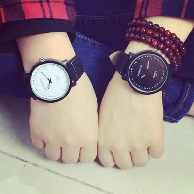 Rosivga 243 Big Dial Quartz Watch with Leather Band for LoverCouples Watches<br>Rosivga 243 Big Dial Quartz Watch with Leather Band for Lover<br><br>Brand: Rosivga<br>Watches categories: Couple tables<br>Watch style: Casual<br>Available color: Black and white,Brown and White<br>Shape of the dial: Round<br>Movement type: Quartz watch<br>Display type: Analog<br>Case material: Stainless Steel<br>Band material: Leather<br>Clasp type: Pin buckle<br>Package weight: 0.120 kg<br>Package size (L x W x H): 29.00 x 7.00 x 1.80 cm / 11.42 x 2.76 x 0.71 inches<br>The male dial dimension (L x W x H): 4.4 x 4.4 x 0.8 cm / 1.73 x 1.73 x 0.31 inches<br>The male watch band dimension (L x W): 28 x 2.4 cm / 11 x 0.94 inches<br>The male watch weight: 0.045 kg<br>The male watch size (L x W x H): 28 x 4.4 x 0.8 cm / 11 x 1.73 x 0.31 inches<br>The female dial dimension (L x W x H): 4.4 x 4.4 x 0.8 cm / 1.73 x 1.73 x 0.31 inches<br>The female watch band dimension (L x W): 28 x 2.4 cm / 11 x 0.94 inches<br>The female watch weight: 0.045 kg<br>The female size (L x W x H): 28 x 4.4 x 0.8 cm / 11 x 1.73 x 0.31 inches<br>Package Contents: 2 x Watch