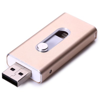 32GB PhotoFast i-FlashDrive HD Lightning USB Flash DiskUSB Flash Drives<br>32GB PhotoFast i-FlashDrive HD Lightning USB Flash Disk<br><br>Capacity: 32G<br>Type: USB Stick<br>Available color: Red,Blue,Gold,Silver,Pink,Black<br>Style: Classic<br>Interface: USB 2.0<br>Transmission Speed: 5MB/s<br>Certificate: RoHs,CE,FCC<br>Product weight: 0.013 kg<br>Package weight: 0.070 kg<br>Product size (L x W x H): 6.400 x 2.700 x 1.000 cm / 2.520 x 1.063 x 0.394 inches<br>Package size (L x W x H): 12.100 x 7.100 x 2.600 cm / 4.764 x 2.795 x 1.024 inches<br>Package Contents: 1 x 32GB i-FlashDrive HD Lightning USB Flash Memory Drive, 1 x USB Adapter, 1 x English Manual