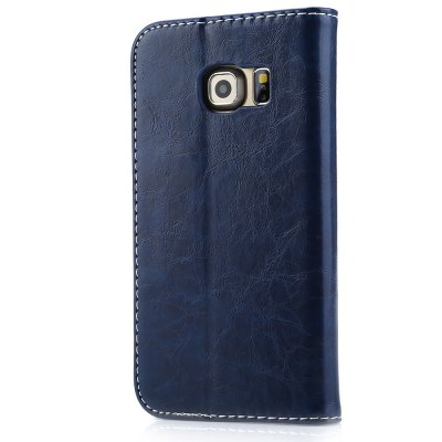 Magnetic Flip Leather Case Cover for Samsung S6 Edge