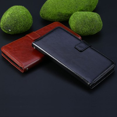 Magnetic Card Slot Wallet Stand Leather Flip Case for OnePlus One