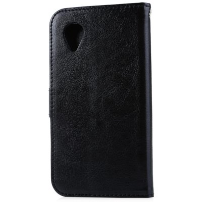 Magnetic Card Slot Wallet Stand Leather Flip Case for Nexus 5