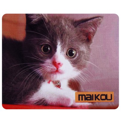 Maikou Mouse Pad Cat with Bell