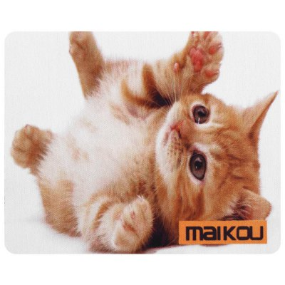 Maikou Mouse Pad Supine Cat