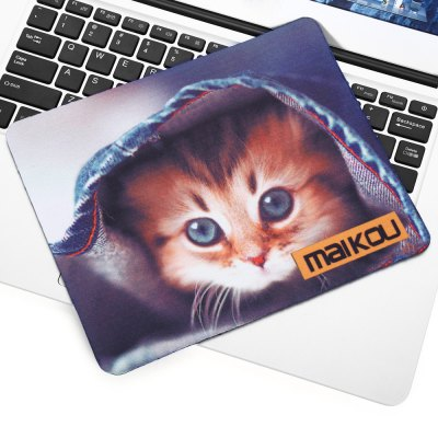 Maikou Mouse Pad Cat Covers Cloth