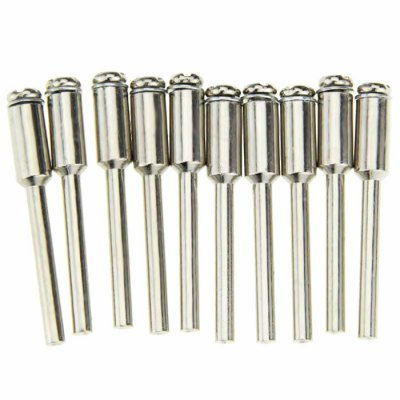 10PCS Diamond Fixed Mandrel