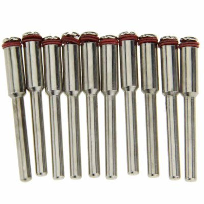 10PCS Resin / Stainless Steel Fixed Mandrel for Saw Blade