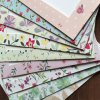 9Pcs Floral Pattern 7 inch Paper Photo Frame Kit deal
