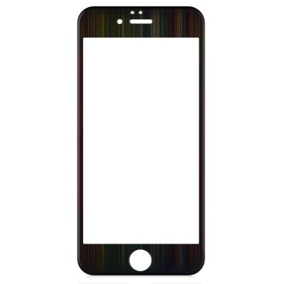 Angibabe Tempered Glass Screen Film for iPhone 6 / 6S with Brushed Frame