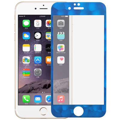 Angibabe 0.3mm Tempered Glass Screen Protector for iPhone 6 / 6S Water Cube Frame