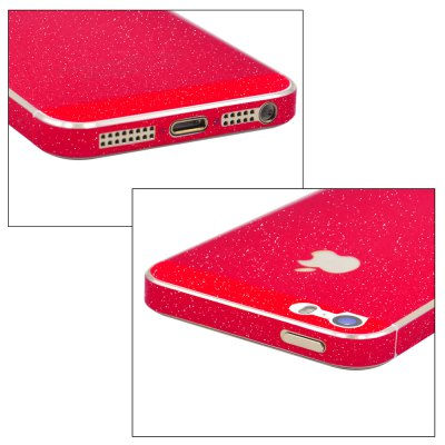 Angibabe Frosted Shimmering Full Body Protector for iPhone 5 / 5S