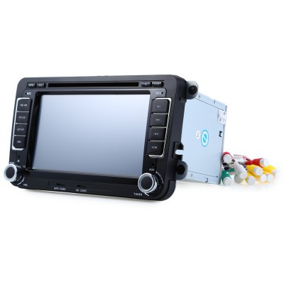 16GB Car DVD Stereo Video Player GPS Navigation with Remote Control for VW
